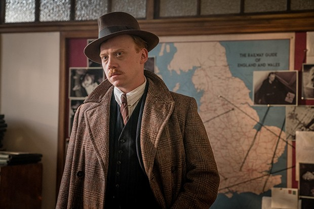 Rupert Grint in The ABC Murders
