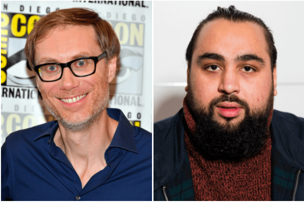 Stephen Merchant and Asim Chaudhry (Getty)
