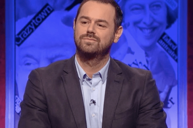 Danny Dyer, HIGNFY (BBC screenshot)