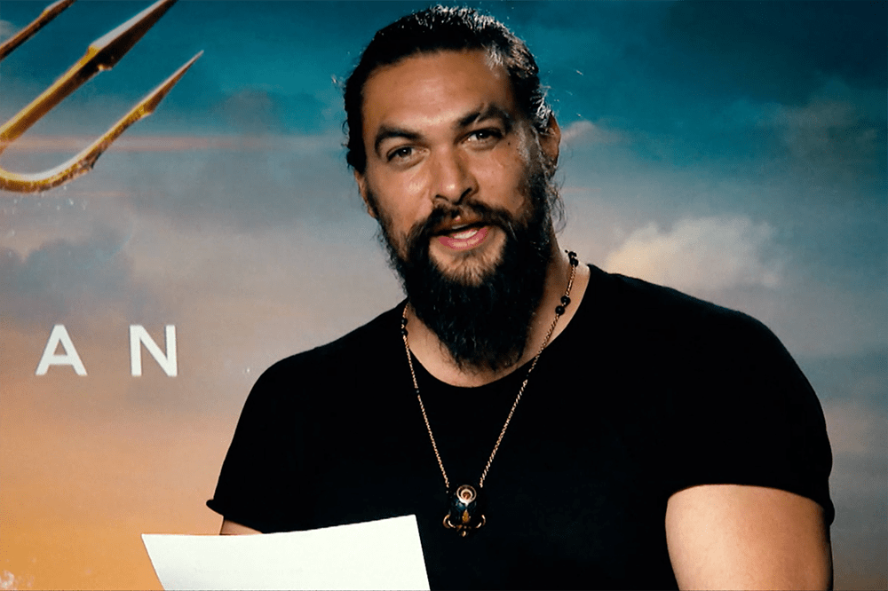 Jason Momoa, star of Aquaman