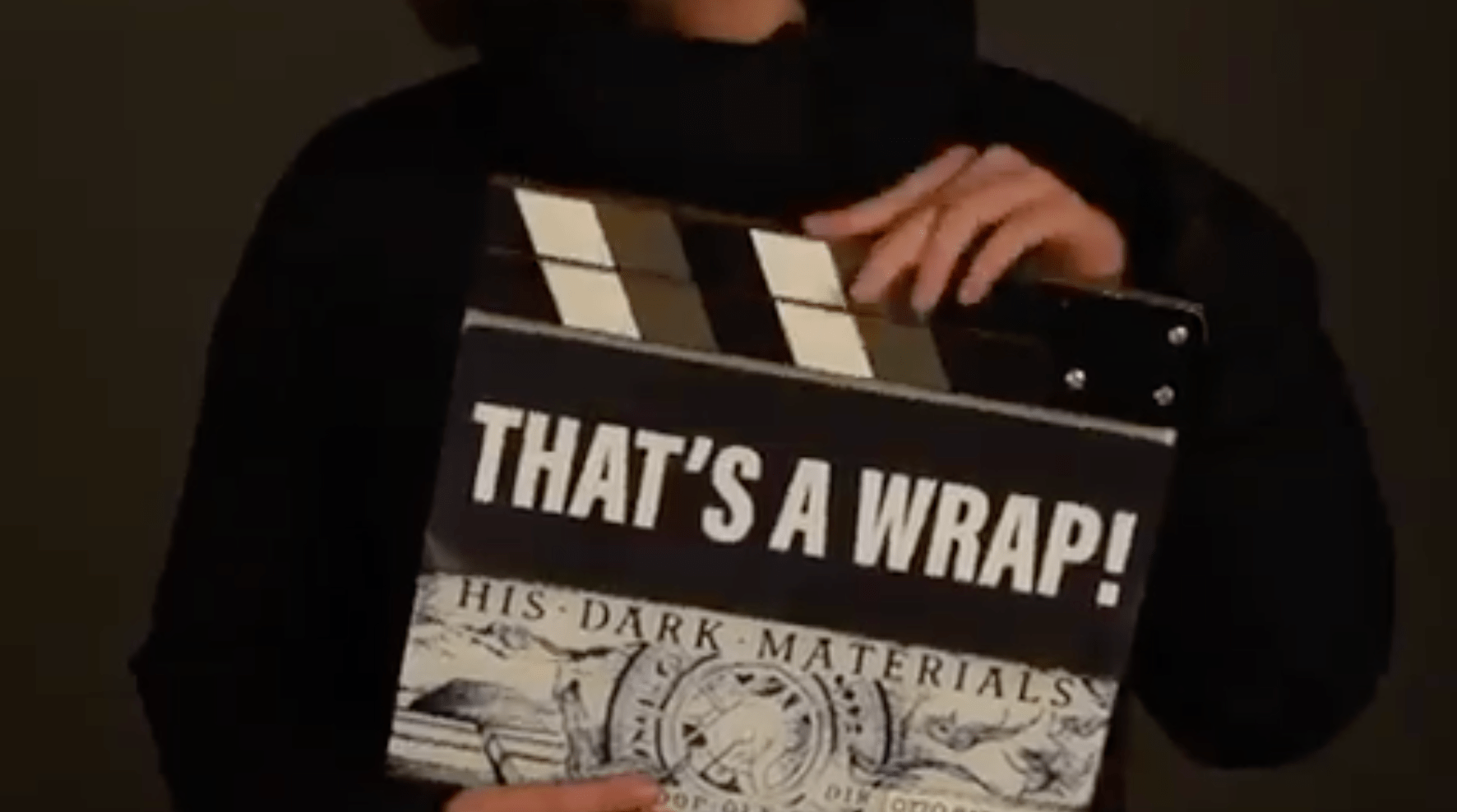His Dark Materials star Dafne Keen reveals that filming has finished on series one of the highly anticipated TV adaptation (Twitter)
