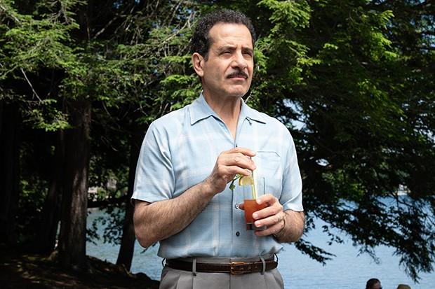 Tony Shalhoub plays Abe Weissman in The Marvelous Mrs Maisel