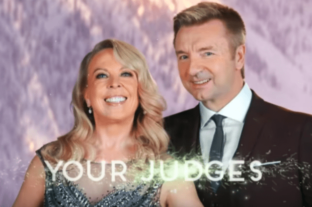 Torvill and Dean in Dancing on Ice trailer