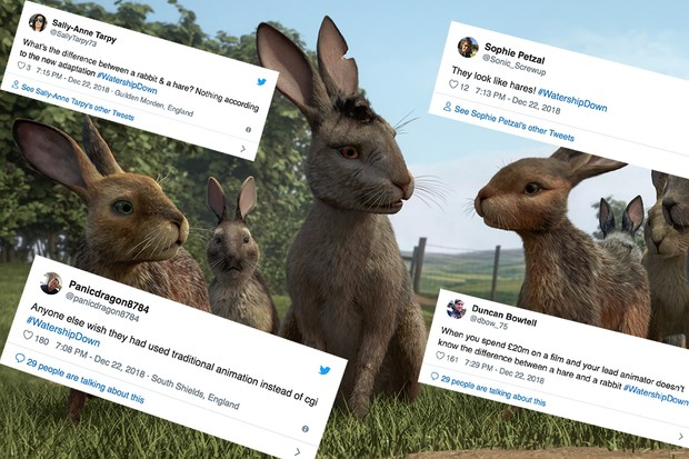 Tweets for Watership Down (BBC)