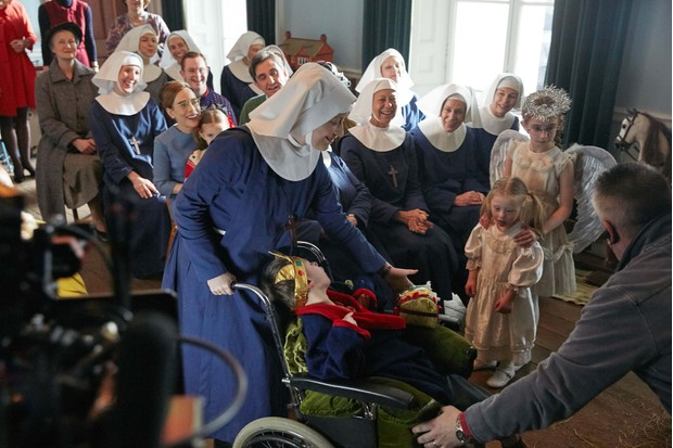 Victoria Yeates at the Mother House in Call the Midwife
