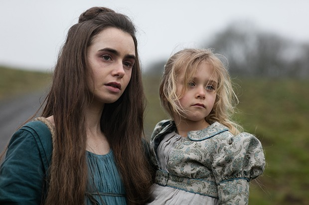 Young Cosette in Les Miserables