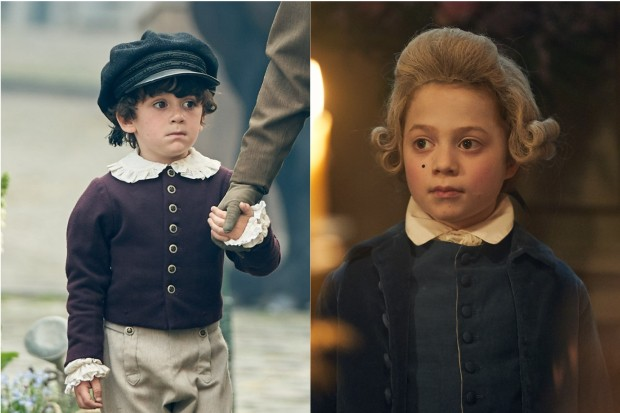 Young Marius in Les Miserables