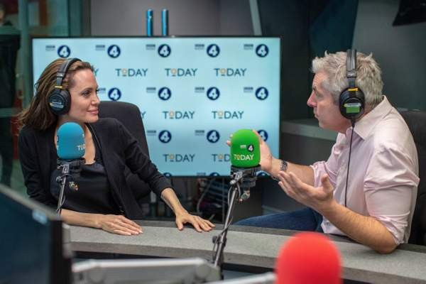 Angelina Jolie, the Today programme