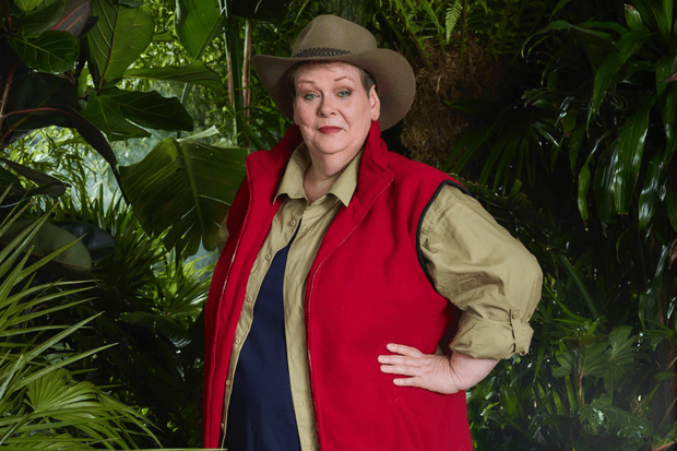 Anne Hegerty, I'm a Celeb (ITV)