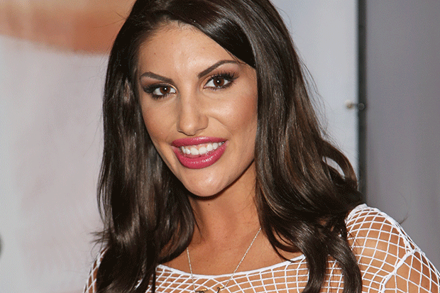 August ames caught in the act