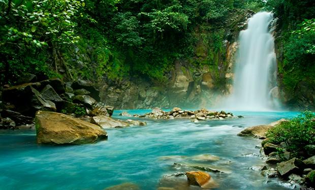 Rio Celeste Falls