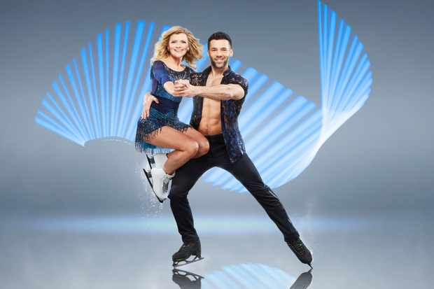 Jane Danson, Dancing on Ice (ITV)
