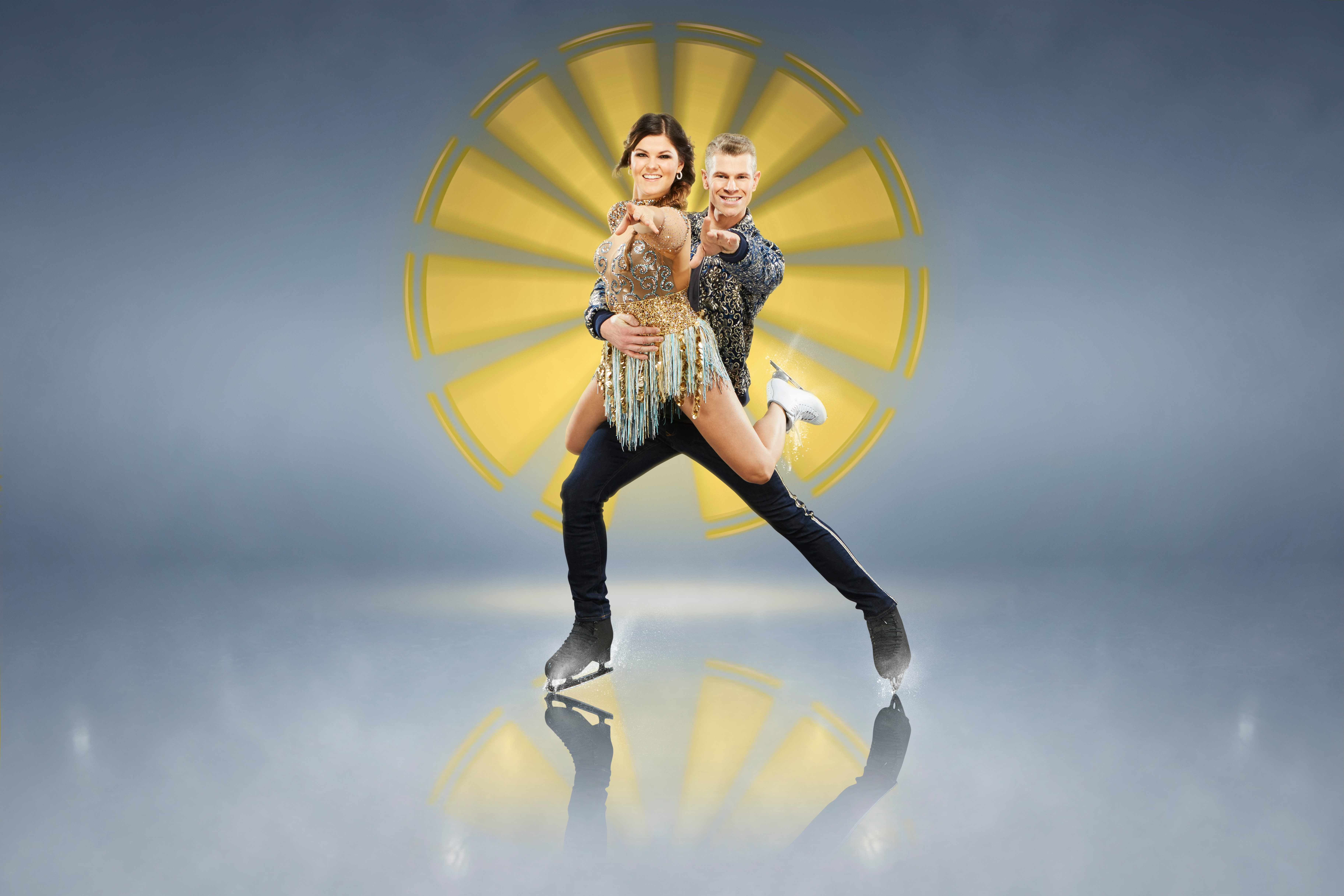 Saara Aalto Dancing on Ice (ITV)