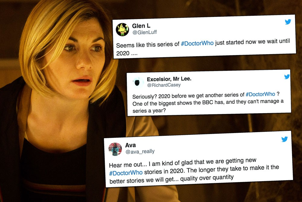 Jodie Whittaker doctor who series 12 break reaction