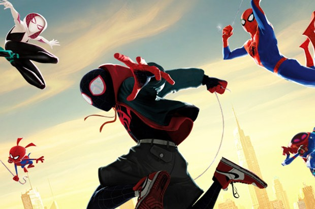 A poster for Spider-Man: Into the Spider-Verse (Sony)
