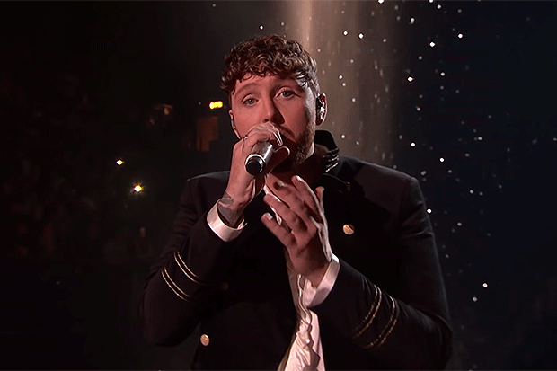 James Arthur in the X Factor final, YouTube