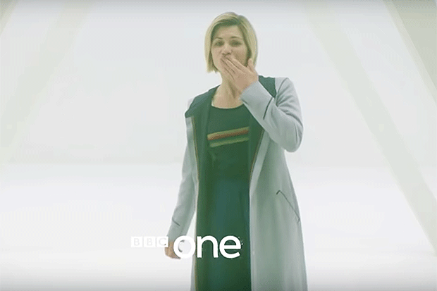 Jodie Whittaker in the New Year's Special, YouTube