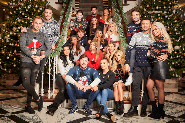 Love Island Christmas reunion, ITV Pictures