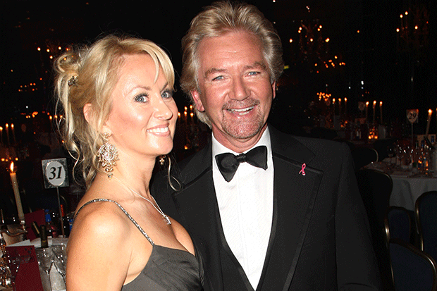 Noel Edmonds and wife Liz Davies, Getty