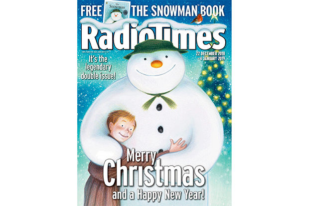Radio Times Christmas cover 2018