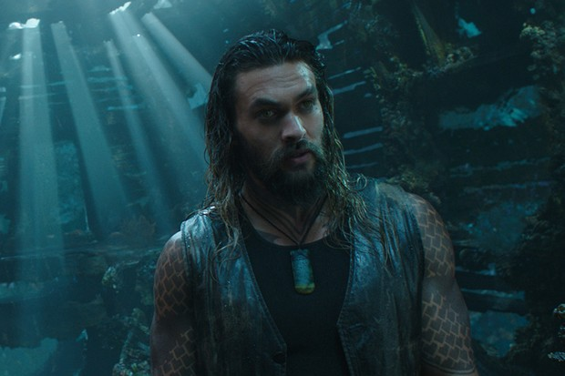 Jason Momoa as Arthur Curry in Aquaman (Warner Bros)
