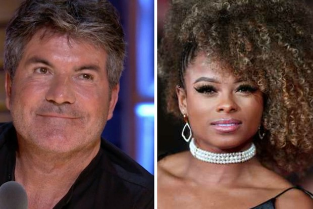 Simon Cowell Fleur East, Getty