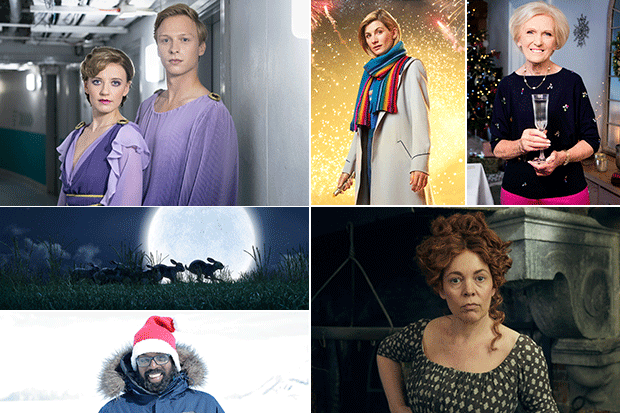 Christmas TV, BBC Pictures and ITV Pictures