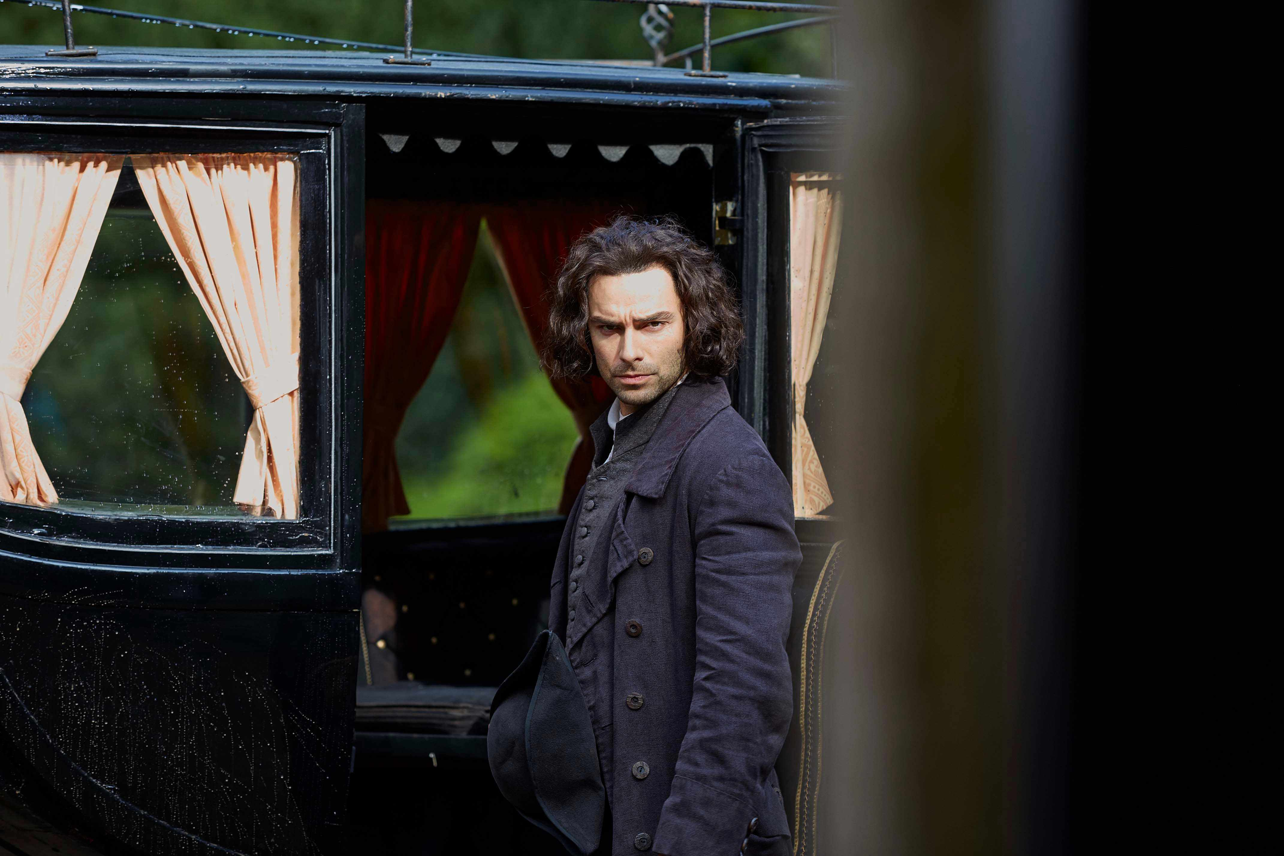 WARNING: Embargoed for publication until 00:00:01 on 10/07/2018 - Programme Name: Poldark - Series 4 - TX: n/a - Episode: Poldark S4 - EP6 (No. 6) - Picture Shows: ***EMBARGOED TILL 10TH JULY 2018*** Ross Poldark (AIDAN TURNER) - (C) Mammoth Screen  - Photographer: Mike Hogan
