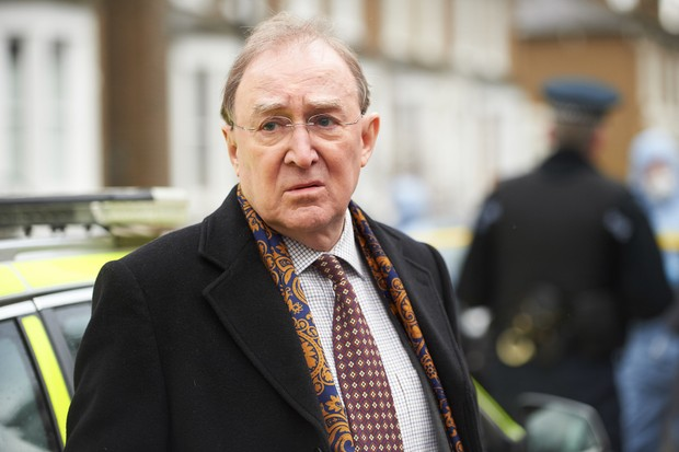 Dermot Crowley in Luther (BBC)