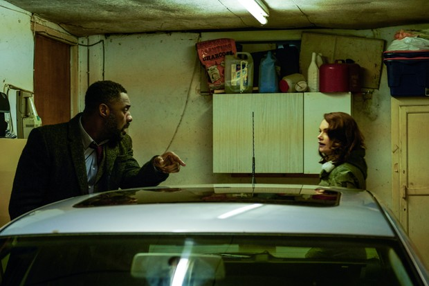 Idris Elba and Ruth Wilson in Luther (BBC)