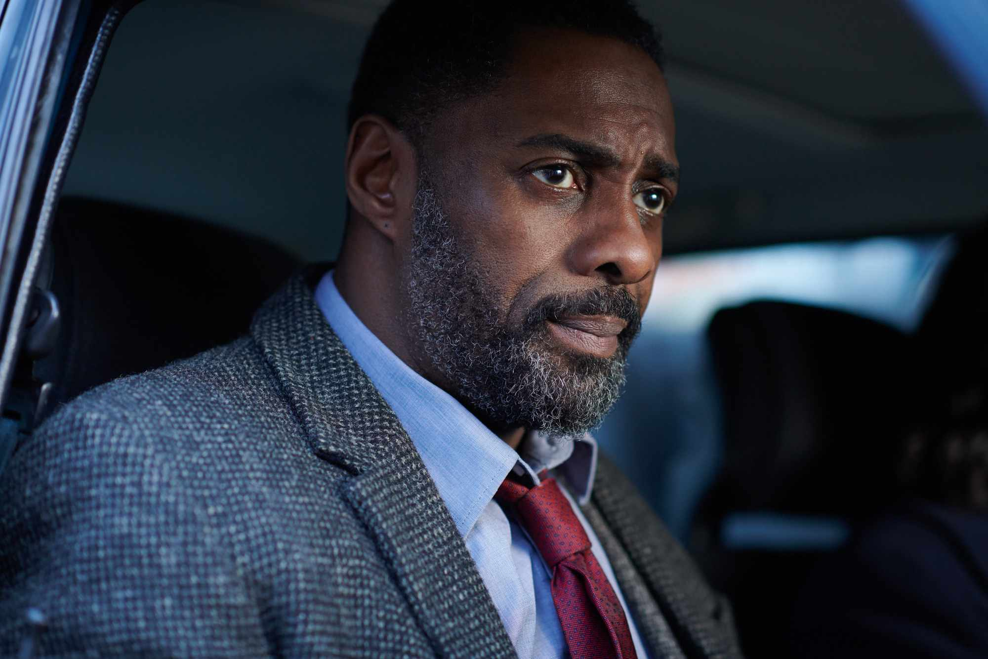 Idris Elba in Luther (BBC)