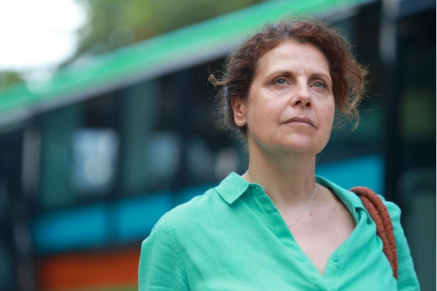 Rebecca Front in Death in Paradise