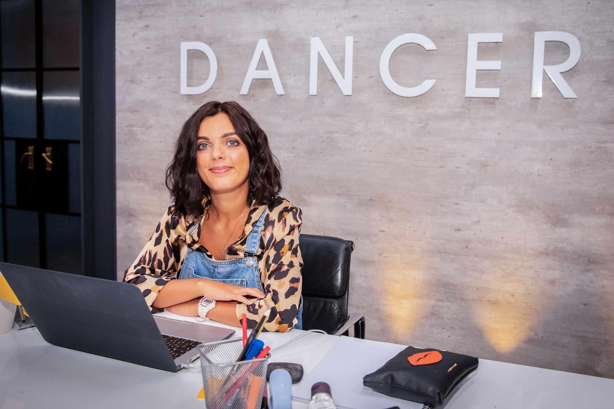 The Greatest Dancer, Amelia Wilson (receptionist) (BBC)