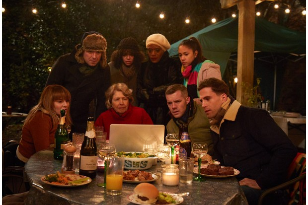 WARNING: Embargoed for publication until 10:00:01 on 20/12/2018 - Programme Name: Years & Years - TX: 17/12/2018 - Episode: Years & Years - First-look picture (No. n/a) - Picture Shows: (L-R) **EMBARGOED FOR PUBLICATION UNTIL 10:00 HRS ON THURSDAY 20TH DECEMBER 2018** Rosie (RUTH MADELEY), Stephen (RORY KINNEAR), Muriel (ANNE REID), Bethany (LYDIA WEST), Celeste (T'Nia Miller), Ruby (JADE ALLEYNE), Daniel (RUSSELL TOVEY), Ralph (DINO FETSCHER) - (C) Red Production - Photographer: Guy Farrow