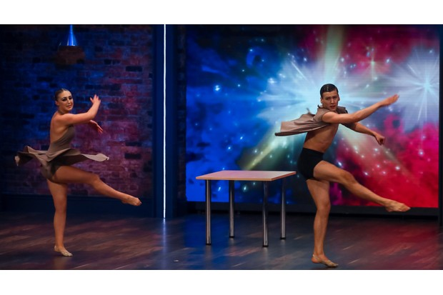 WARNING: Embargoed for publication until 00:00:01 on 15/01/2019 - Programme Name: The Greatest Dancer - TX: 19/01/2019 - Episode: The Greatest Dancer - Ep 3 (No. n/a) - Picture Shows: *STRICTLY NOT FOR PUBLICATION UNTIL 00:01HRS, TUESDAY 15TH JANUARY, 2019* Harry & Eleiyah - (C) Syco/Thames - Photographer: Tom Dymond