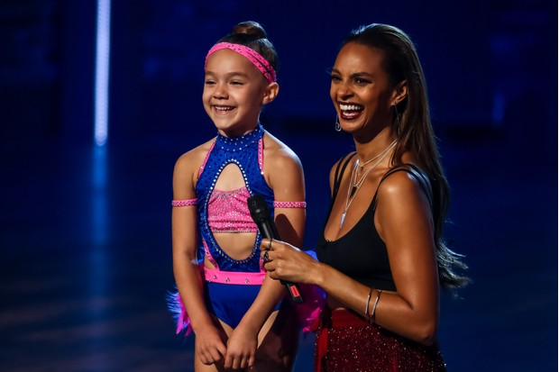 WARNING: Embargoed for publication until 00:00:01 on 15/01/2019 - Programme Name: The Greatest Dancer - TX: 19/01/2019 - Episode: The Greatest Dancer - Ep 3 (No. n/a) - Picture Shows: Shyla, Alesha Dixon - (C) Syco/Thames - Photographer: Tom Dymond