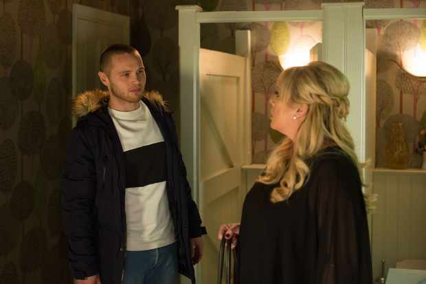 EastEnders, Sharon Mitchell, Keanu Taylor