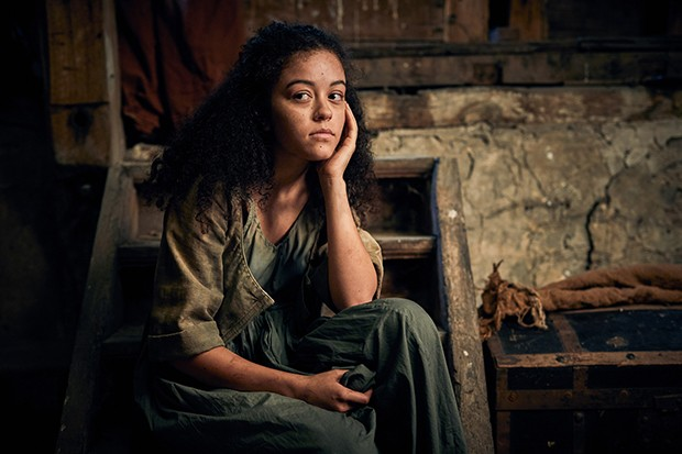 Alex Jarrett plays Azelma in Les Miserables