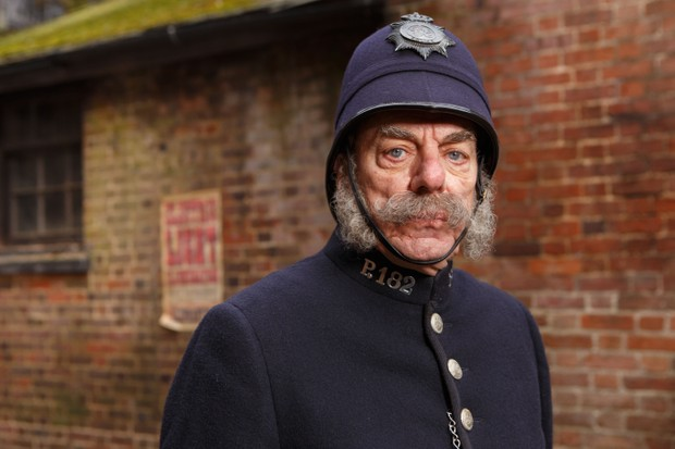 New Tricks star Alun Armstrong plays a Victoria policeman in Channel 4's Year of the Rabbit (Channel 4)