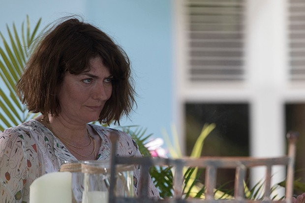 Anna Chancellor plays Ciss in Death in Paradise