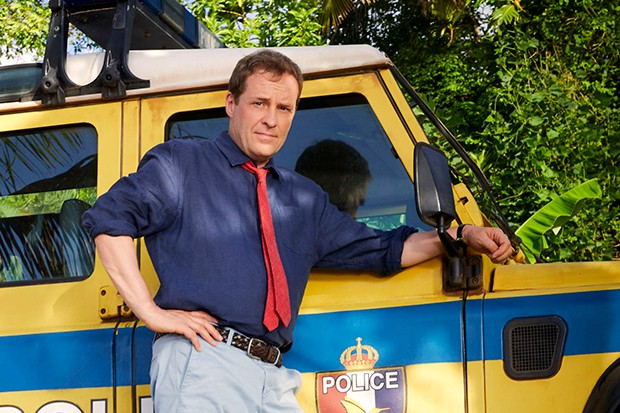 Ardal O'Hanlon plays DI Jack Mooney in Death in Paradise