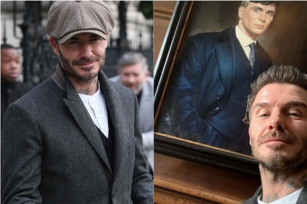David Beckham Peaky Blinders