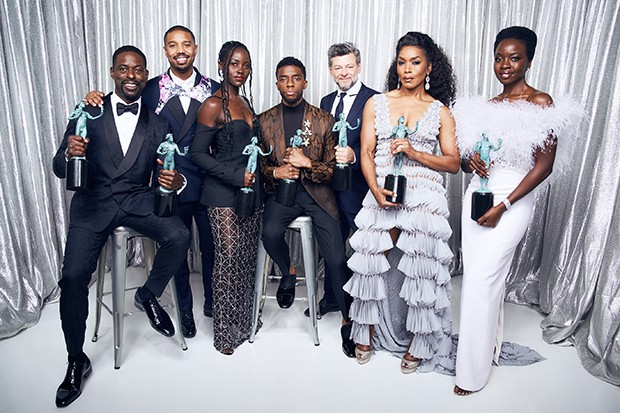 Black Panther - 25th Annual Screen Actors Guild Awards - Winner's Gallery
