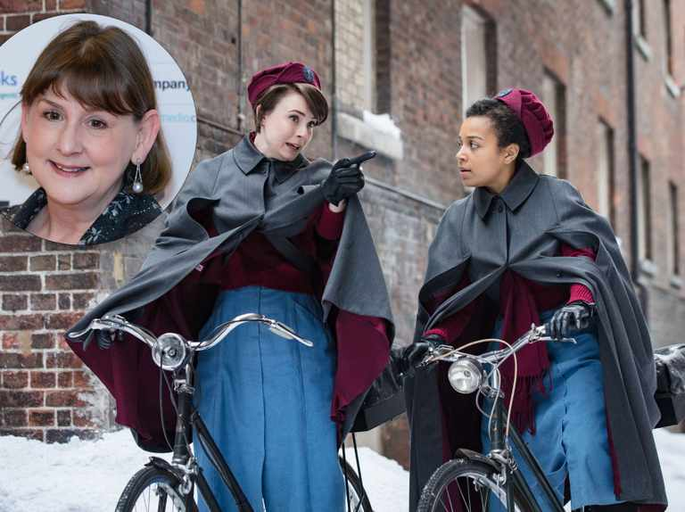 Panic over! Call The Midwife creator Heidi Thomas is NOT quitting the show