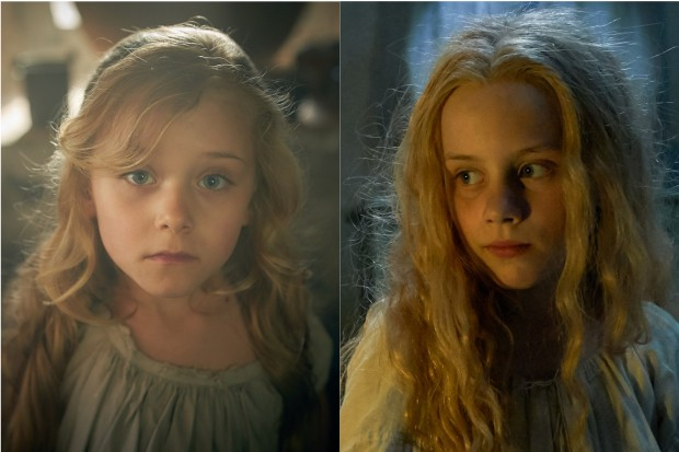 Child Cosettes in Les Miserables