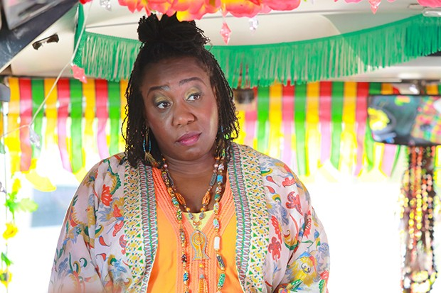 Chizzy Akudolu plays Butterfly Brown in Death in Paradise