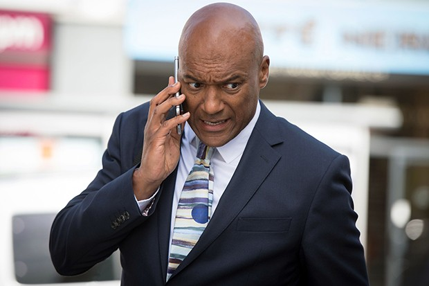 Colin Salmon plays headmaster Noah Taylor in Silent Witness