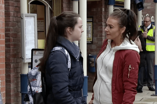 Corrie, Amy Barlow, Vicky Jefferies