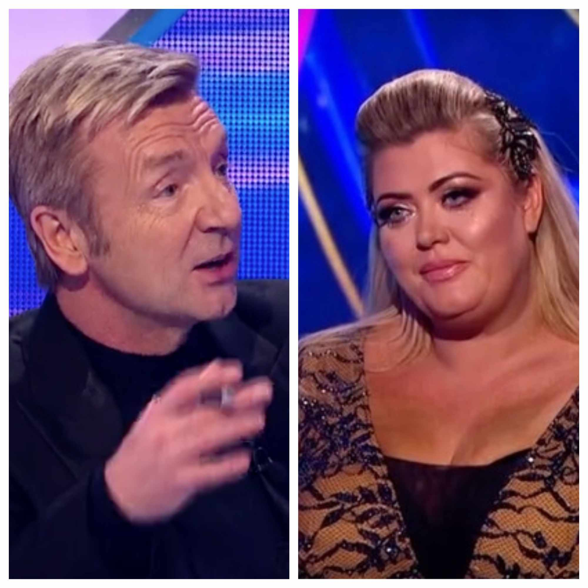 Dancing on Ice, Christopher and Gemma (ITV, screenshots)