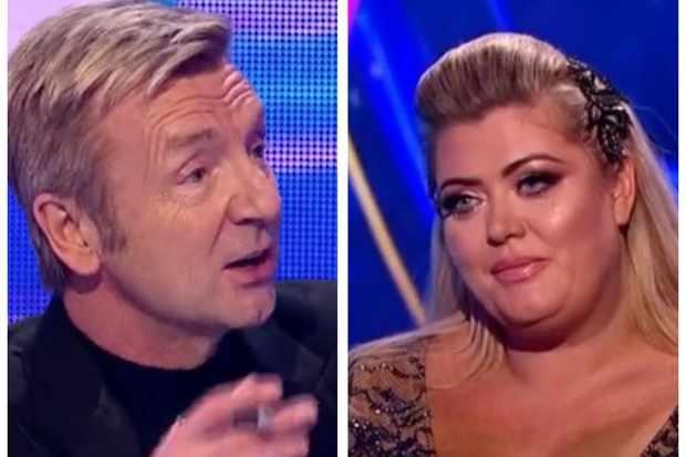 Dancing on Ice, Christopher and Gemma (ITV, screenshots)
